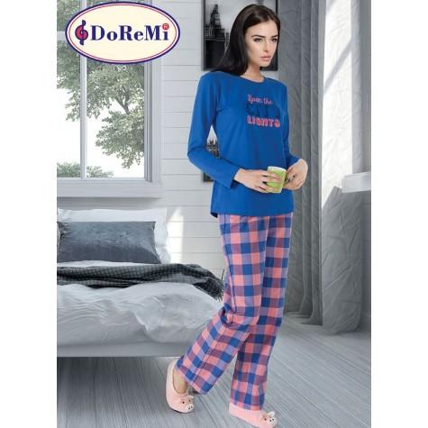 002-000263 DoReMi Royal Rain Bayan Pijama Takımı